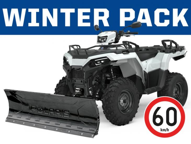 *Winter Pack 2021 POLARIS SPORTSMAN 570 EFI 4X4 – T3B </br>9 490 € + tk