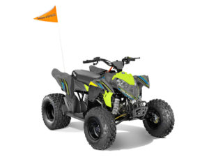 Polaris outlaw lime vihreä