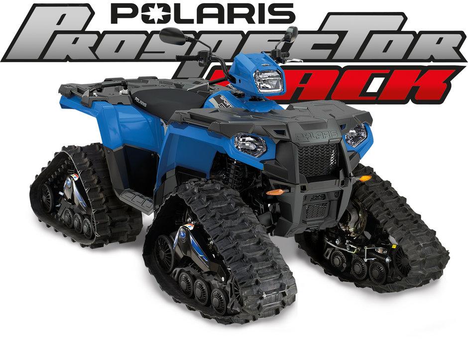 Polaris Sportsman Prospector sininen