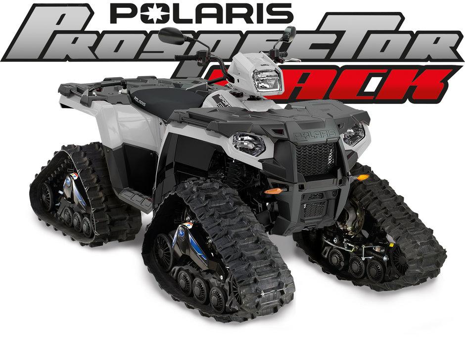 polaris sportsman prospector valkoinen
