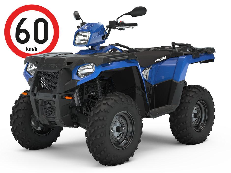 Polaris Sportsman 570 sininen