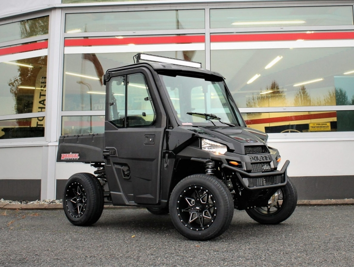*2020 POLARIS RANGER 570</br> EFI EPS BLACK EDITION T1b</br>18 490 € + tk